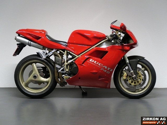 Motorrad kaufen DUCATI 748 Biposto Occasion