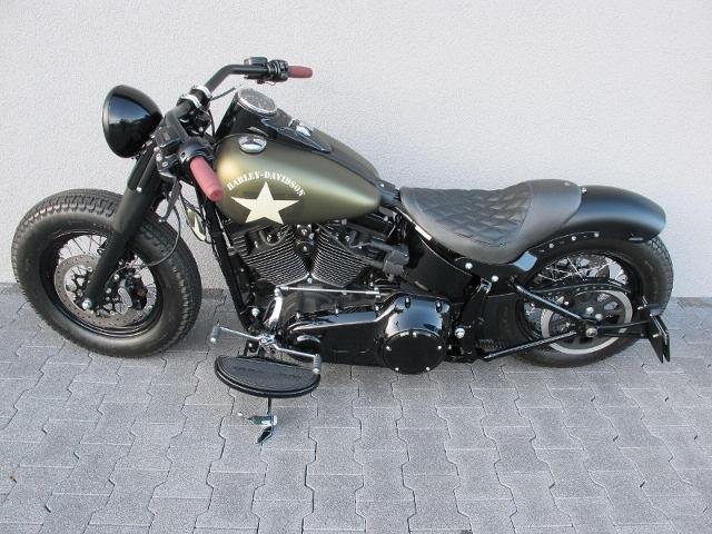 Motorrad kaufen HARLEY-DAVIDSON FLSS 1801 Softail Slim S ABS Occasion