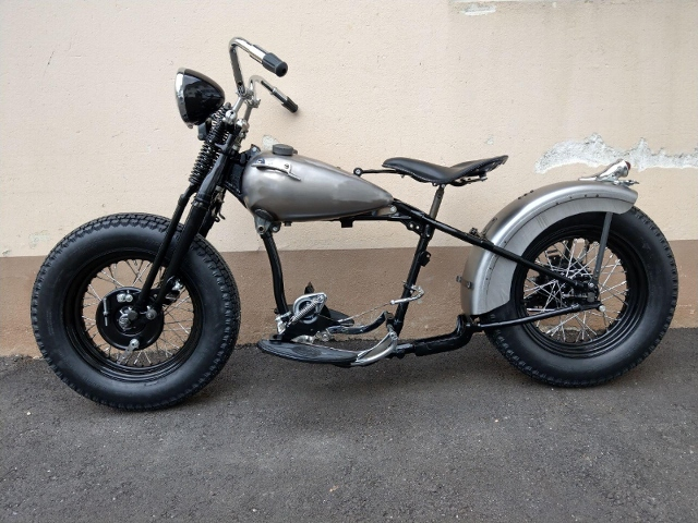 Motorrad kaufen HARLEY-DAVIDSON WL 1 Bobber Oldtimer