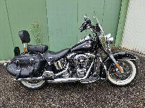 Motorrad kaufen Occasion HARLEY-DAVIDSON FLSTC 1690 Softail Heritage Classic ABS (custom)