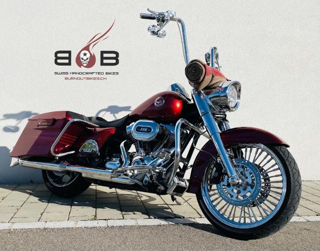 Motorrad kaufen HARLEY-DAVIDSON FLHRSE5 CVO 1801 Road King ABS CHICANO BAGGER Occasion