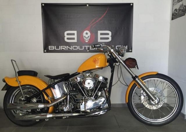 Motorrad kaufen HARLEY-DAVIDSON FL 1200 PANHEAD Oldtimer
