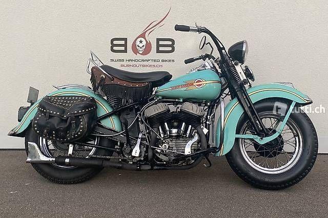 Motorrad kaufen HARLEY-DAVIDSON WLC FLATHEAD VETERAN Oldtimer