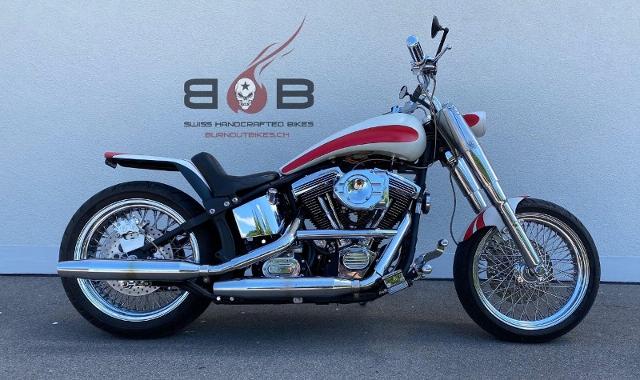 Motorrad kaufen HARLEY-DAVIDSON FLSTC 1340 Softail Heritage Classic CUSTOM Occasion