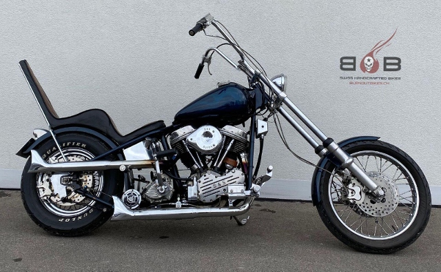 Motorrad kaufen HARLEY-DAVIDSON PANHEAD FL CUSTOM Oldtimer
