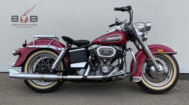 Motorrad kaufen HARLEY-DAVIDSON SHOVELHEAD FLH VETERAN Oldtimer