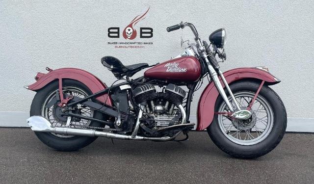 Motorrad kaufen HARLEY-DAVIDSON WL FLATHEAD VETERANENFAHRZEUG Oldtimer