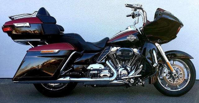 Motorrad kaufen HARLEY-DAVIDSON FLTRUSE 1801 CVO Road Glide Ultra ABS Occasion