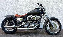Motorrad kaufen Occasion HARLEY-DAVIDSON FXR 1340 Super Glide (custom)