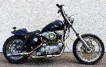 Motorrad kaufen Oldtimer HARLEY-DAVIDSON XLH