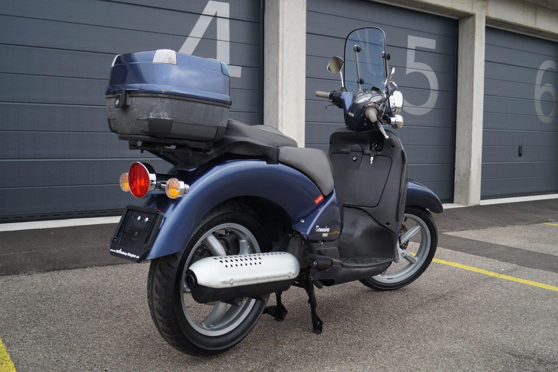 motorrad occasion kaufen aprilia scarabeo 125 motoshop. Black Bedroom Furniture Sets. Home Design Ideas