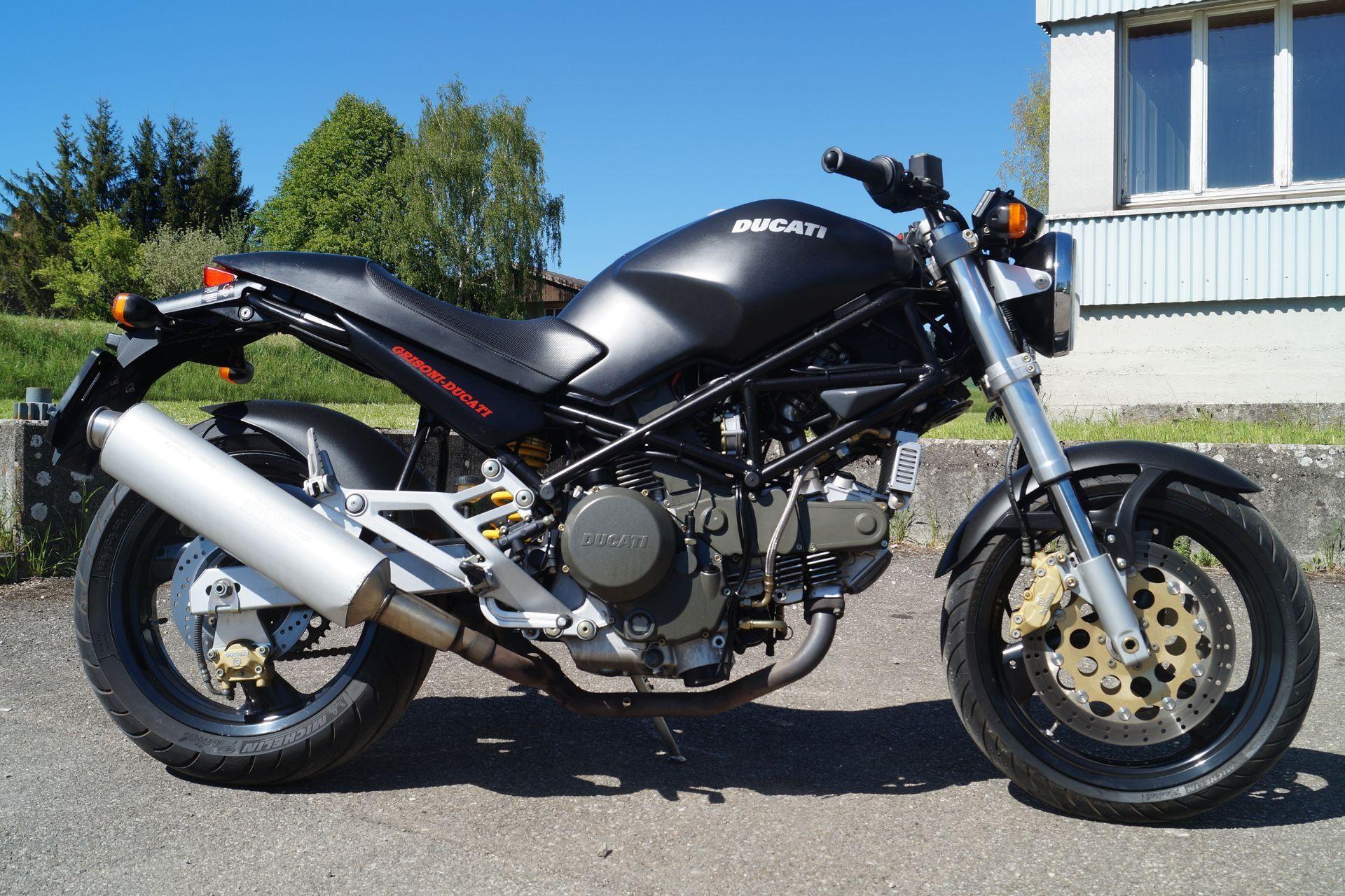 motorrad occasion kaufen ducati 750 monster grisoni motoshop ziegler schleitheim. Black Bedroom Furniture Sets. Home Design Ideas