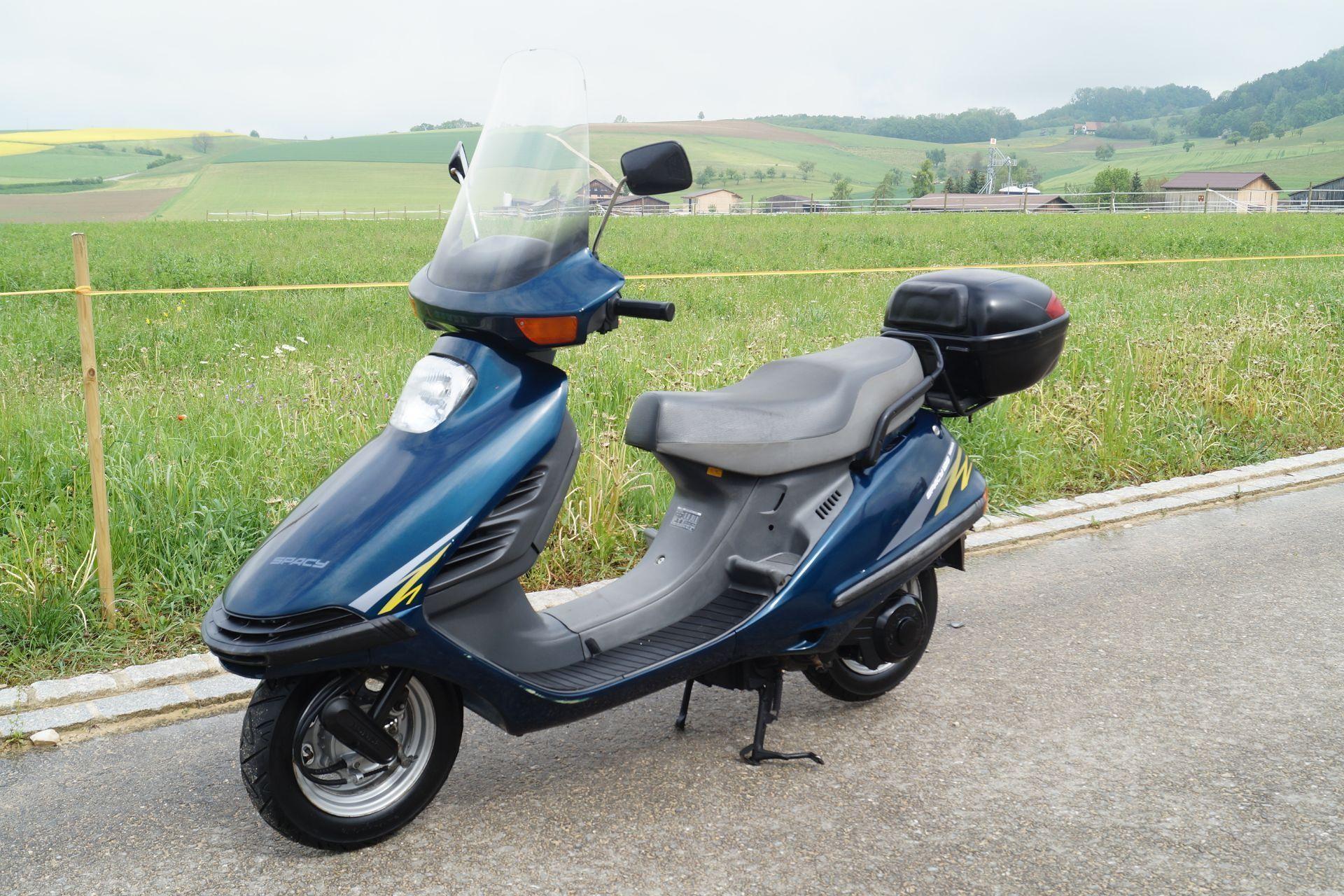 motorrad occasion kaufen honda ch 125 spacy motoshop. Black Bedroom Furniture Sets. Home Design Ideas