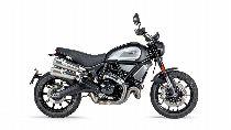 Motorrad Mieten & Roller Mieten DUCATI 1100 Scrambler (Retro)