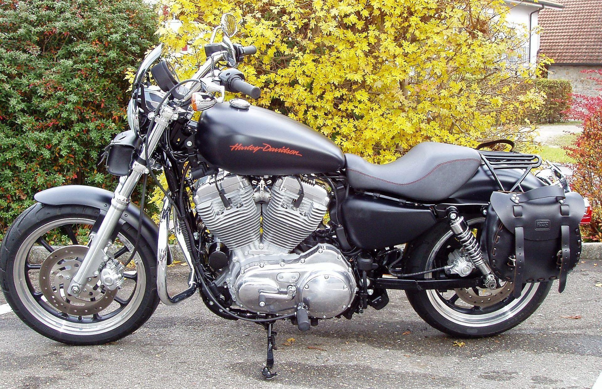 motorrad occasion kaufen harley davidson xl 883l sportster low bapst motos ag selzach. Black Bedroom Furniture Sets. Home Design Ideas