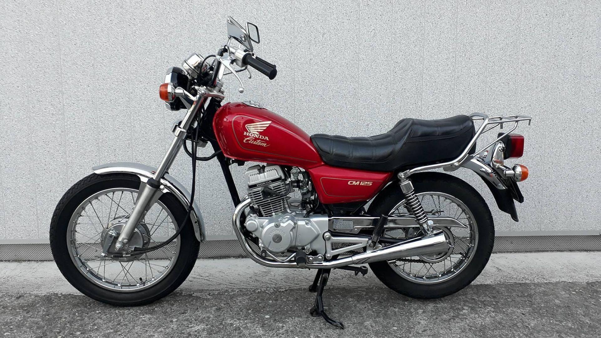 Motorrad Occasion kaufen HONDA CM 125 C Moto Tomi Täuffelen