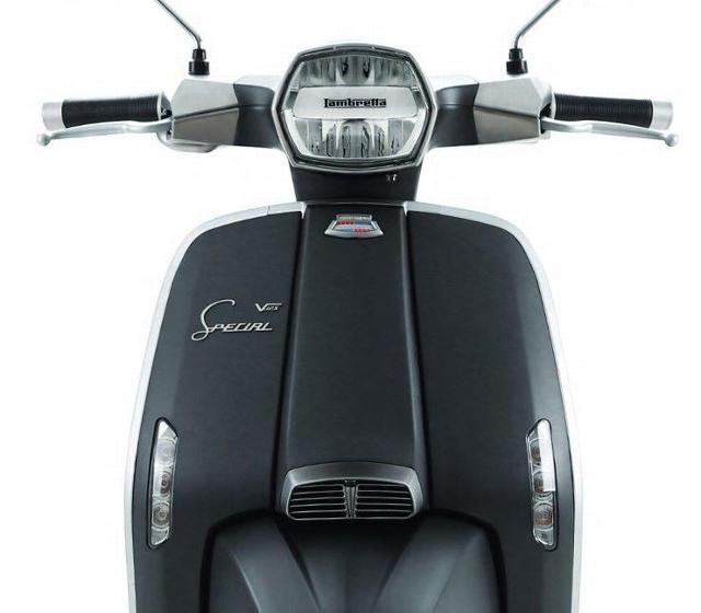 Motorrad kaufen LAMBRETTA V125 Special Fix Fender Neufahrzeug