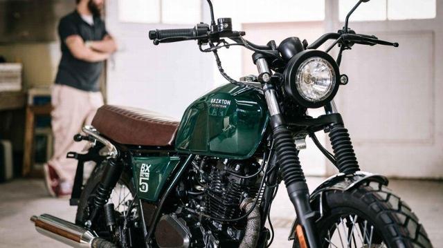Motorrad kaufen BRIXTON BX 125 X Scrambler Neufahrzeug