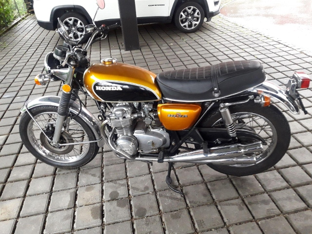 Motorrad kaufen HONDA CB 500 Four Oldtimer