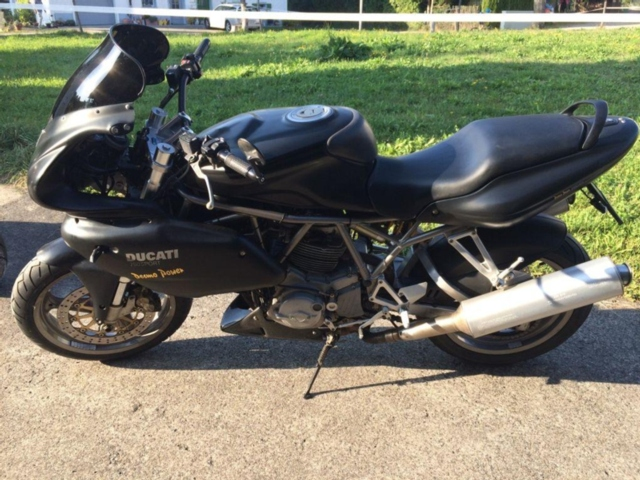 Motorrad kaufen DUCATI 750 SS I.E. Supersport 750 Occasion