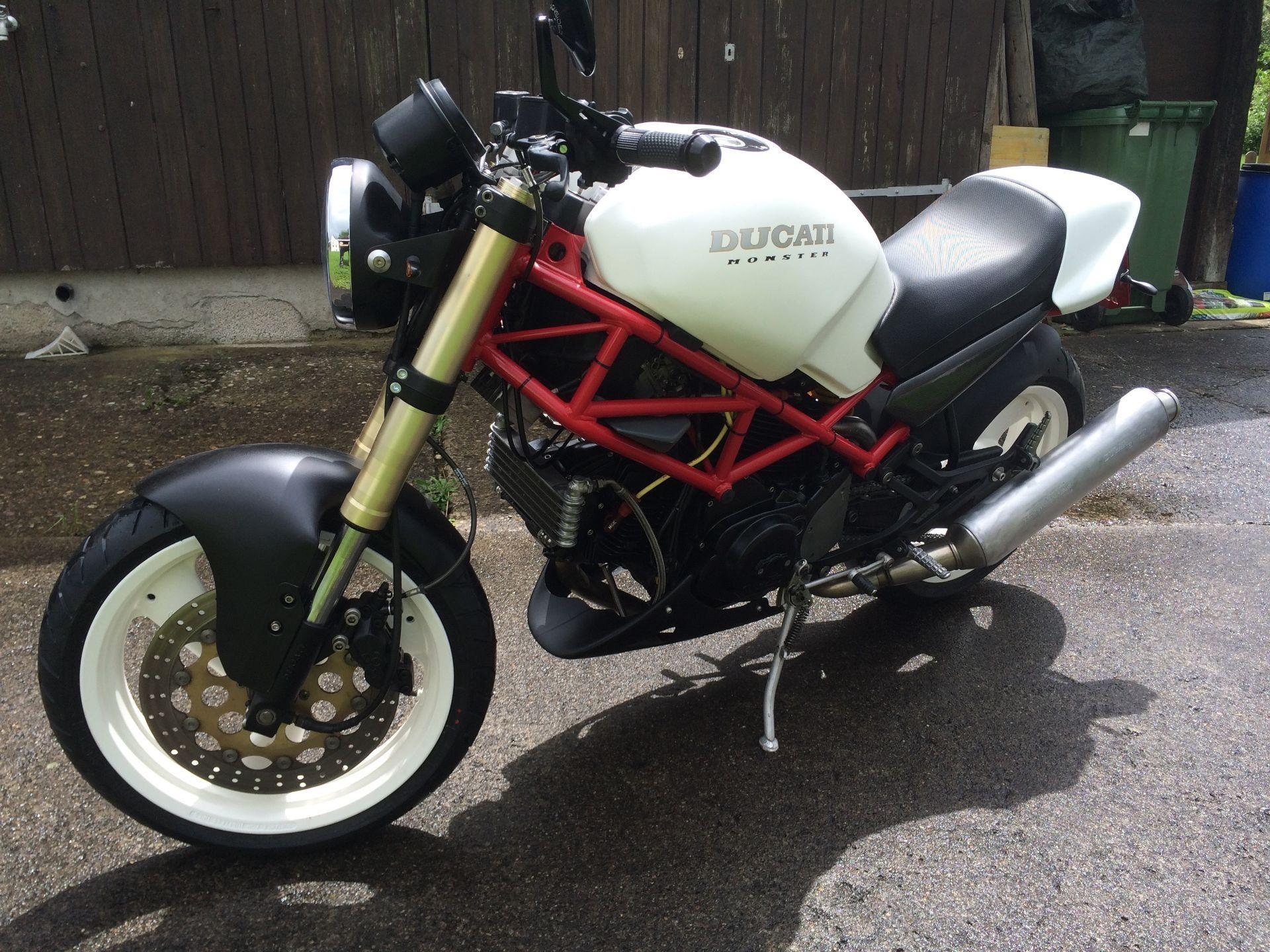 Motorrad Occasion Kaufen Ducati 600 Monster Ze Bikes Wegenstetten