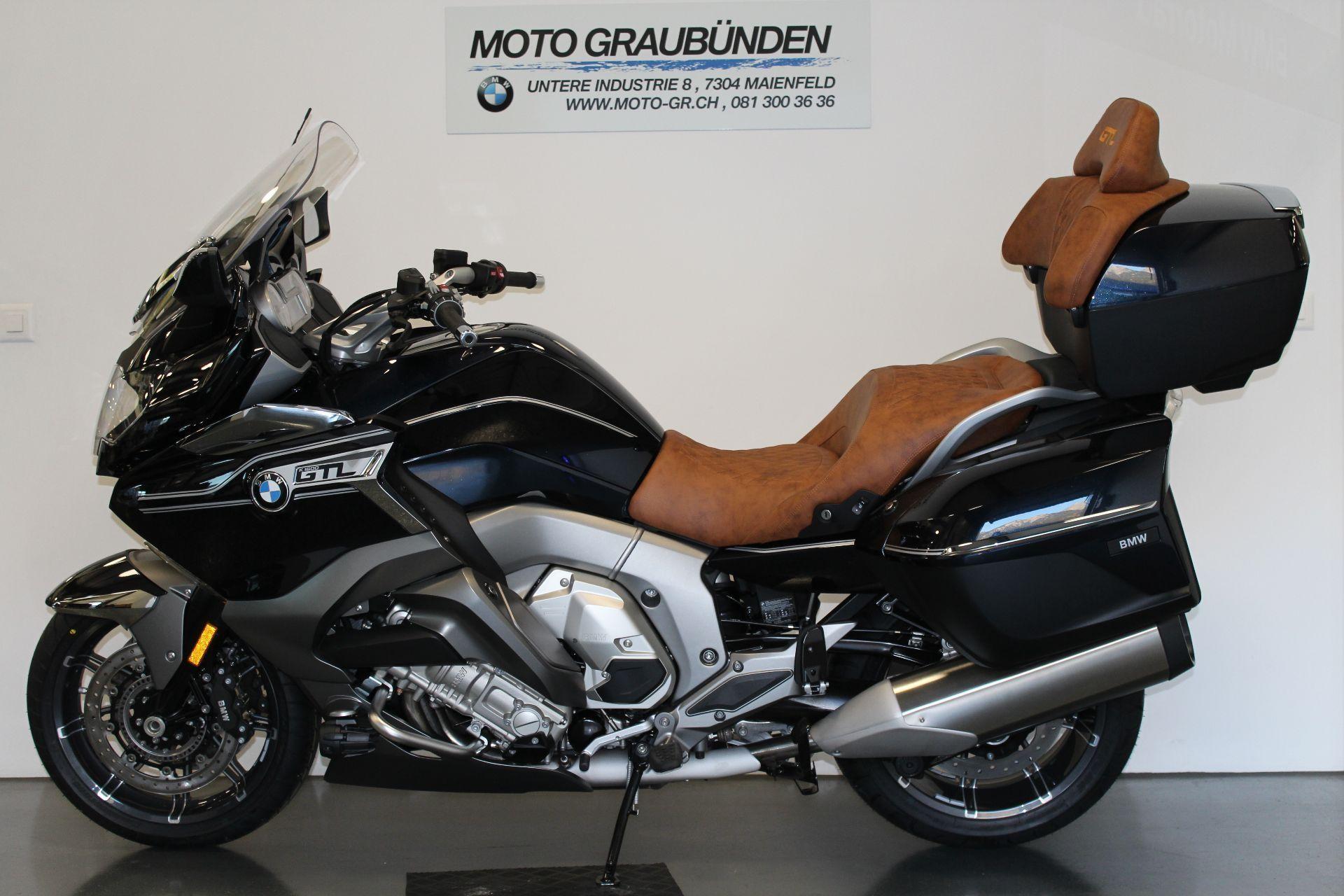 motorrad neufahrzeug kaufen bmw k 1600 gtl abs moto graubünden
