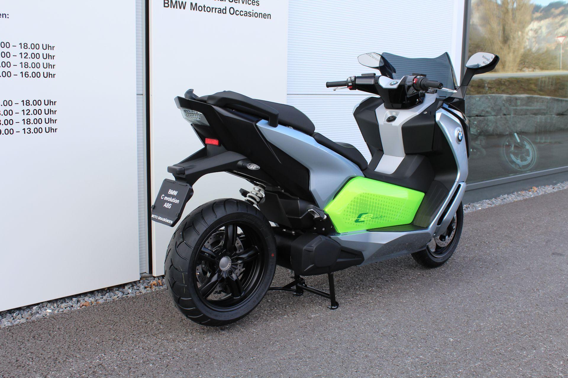 motorrad neufahrzeug kaufen bmw c evolution abs moto graub nden maienfeld. Black Bedroom Furniture Sets. Home Design Ideas
