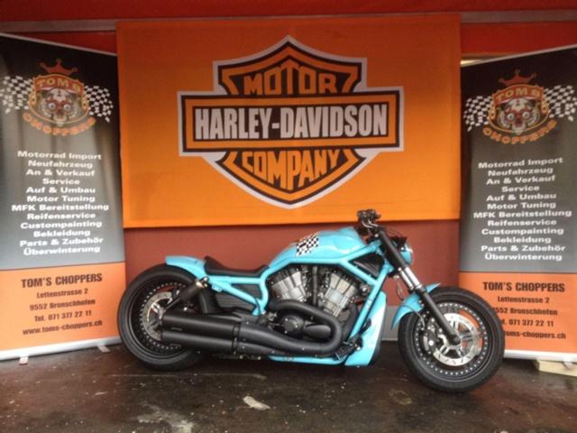 Motorrad kaufen HARLEY-DAVIDSON VRSCAWA 1250 V-Rod ABS Occasion