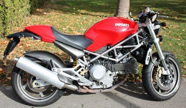 Motorrad kaufen DUCATI 916 Monster S4 Occasion