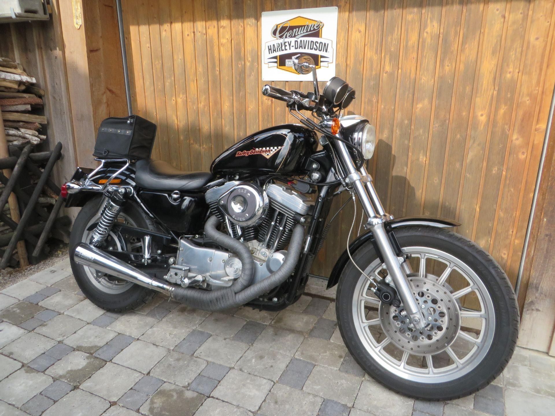 motorrad occasion kaufen harley davidson xl 1200 s sportster kressibucher motorcycle berg. Black Bedroom Furniture Sets. Home Design Ideas