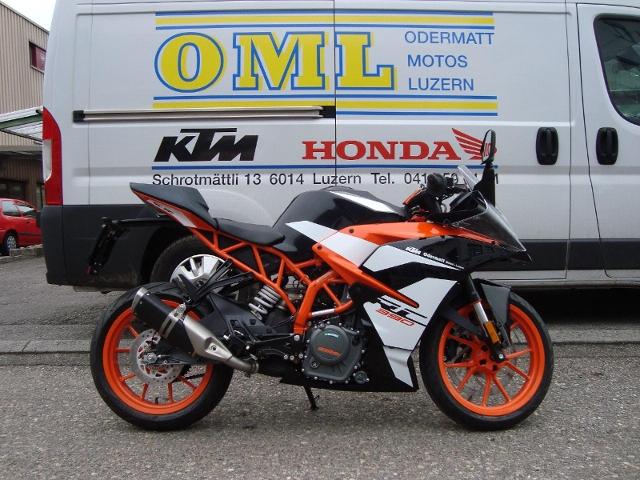 Motorrad kaufen KTM 390 RC Supersport ABS !!Spez. Preis!! Vorführmodell