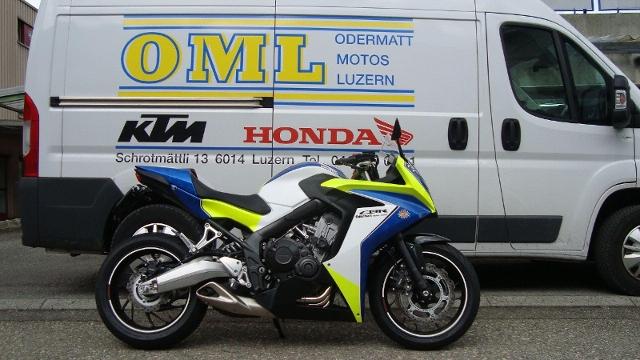 Motorrad kaufen HONDA CBR 650 FA ABS Vorführmodell