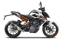 Rent a motorbike KTM 125 Duke (Naked)