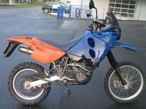 Motorrad kaufen Occasion KTM 640 LC4-E Adventure R (enduro)