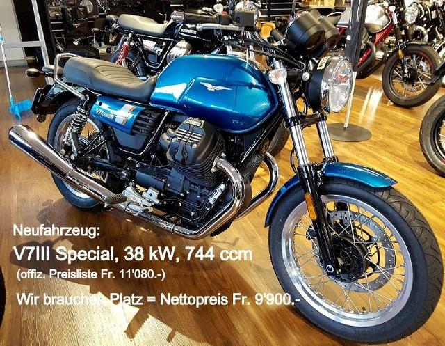 Acheter une moto MOTO GUZZI V7 III Special ABS Modèle de l´année passée