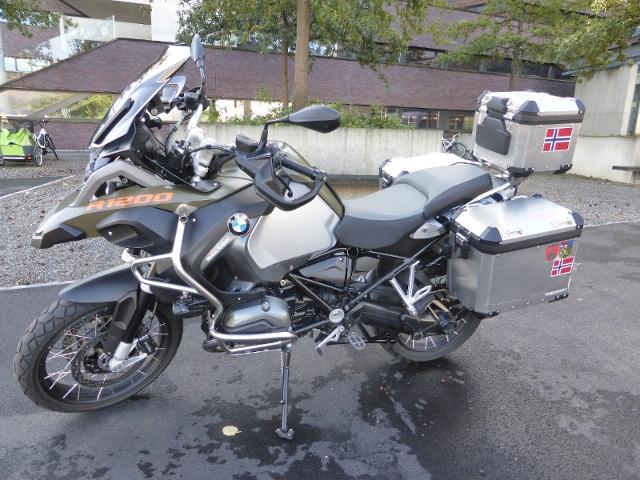 Motorrad kaufen BMW R 1200 GS Adventure ABS von Privat - Inkl. Motorradausrüstung Occasion