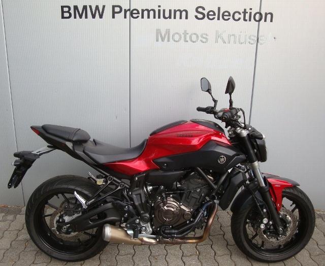 Motorrad kaufen YAMAHA MT 07 ABS 35kW von Privat Occasion