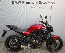 Töff kaufen YAMAHA MT 07 ABS 35kW von Privat Naked