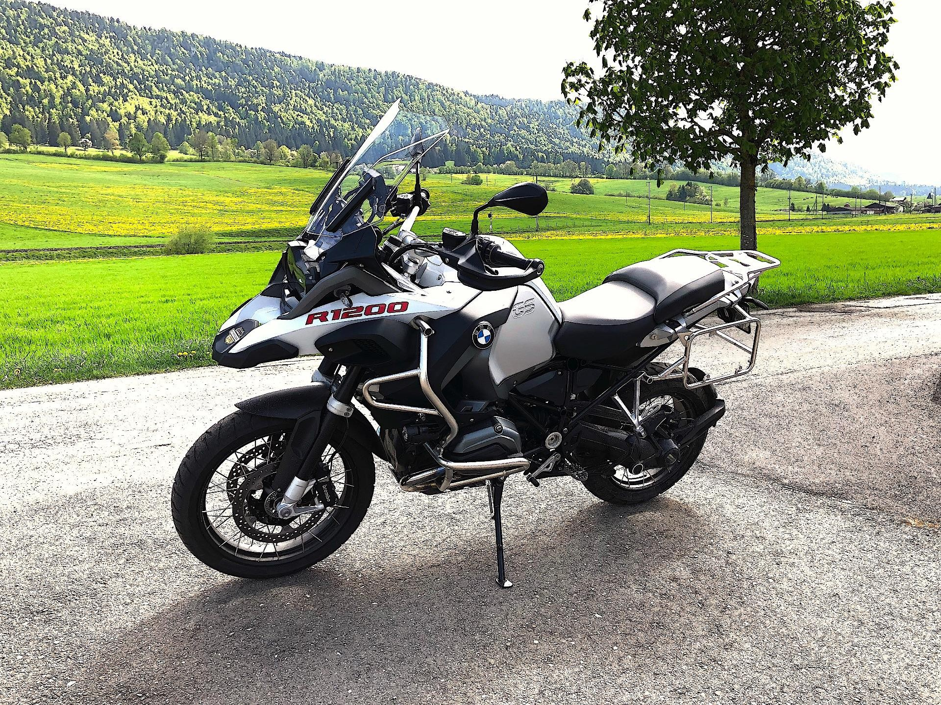 Motorrad Mieten Bmw R 1200 Gs Adventure Abs Garage On The Road Again