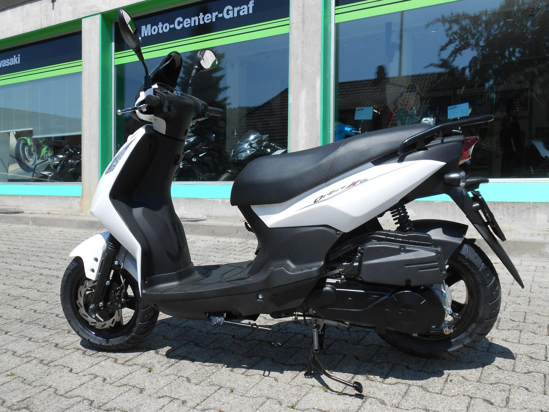 buy motorbike pre owned sym orbit ii 125 euro 4 moto center graf aegerten. Black Bedroom Furniture Sets. Home Design Ideas