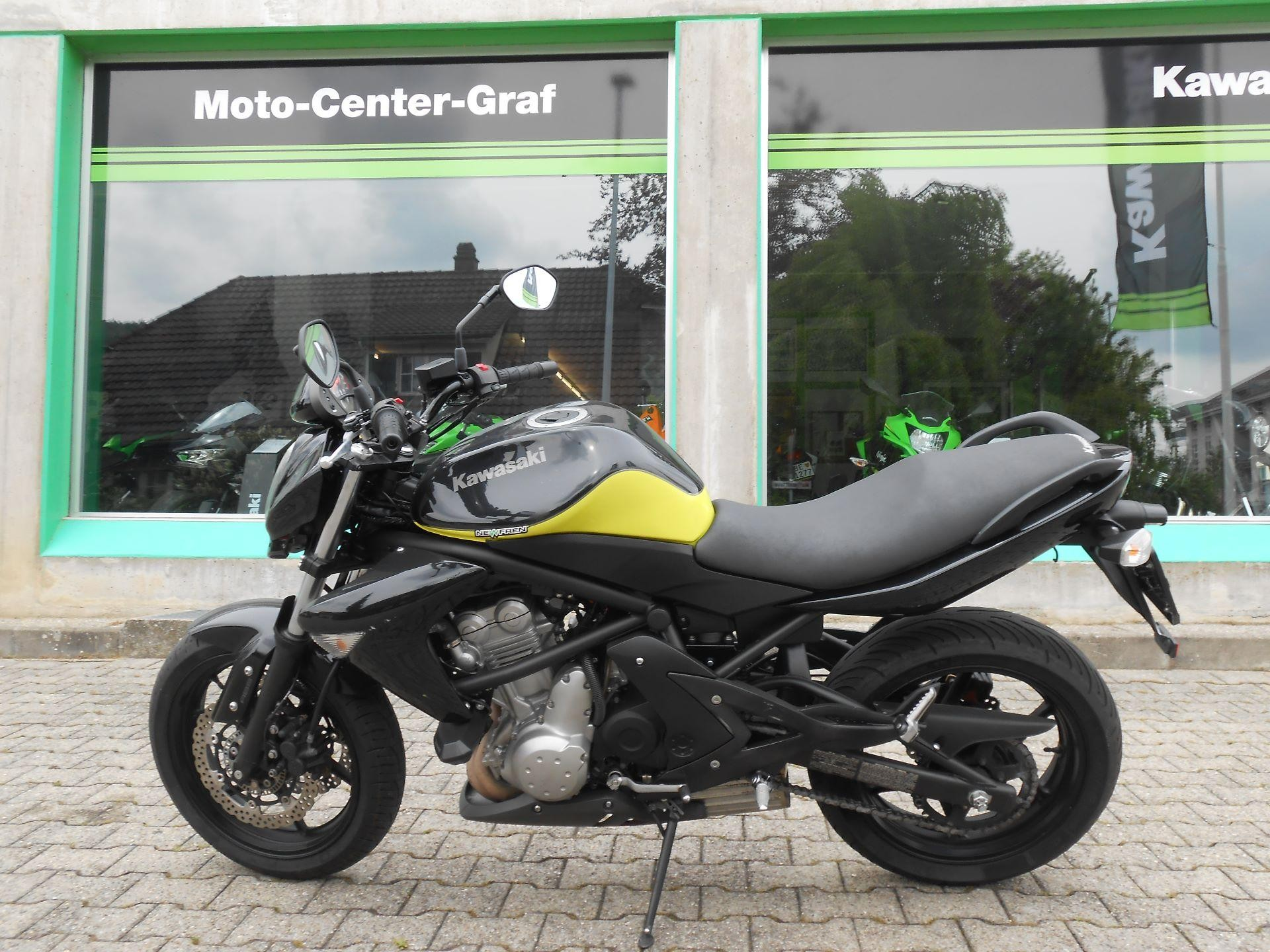 Motorrad Occasion Kaufen Kawasaki Er 6n Moto Center Graf Aegerten Id