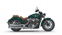 Motorrad Mieten & Roller Mieten INDIAN Scout ABS (Custom)