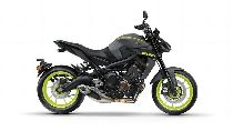 Louer moto YAMAHA MT 09 A ABS (Naked)