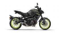 Motorrad Mieten & Roller Mieten YAMAHA MT 09 A ABS (Naked)