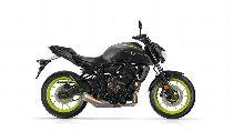 Motorrad Mieten & Roller Mieten YAMAHA MT 07 A (Naked)