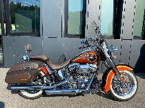 Motorrad kaufen Occasion HARLEY-DAVIDSON FLSTNSE CVO 1801 Softail Deluxe ABS (custom)