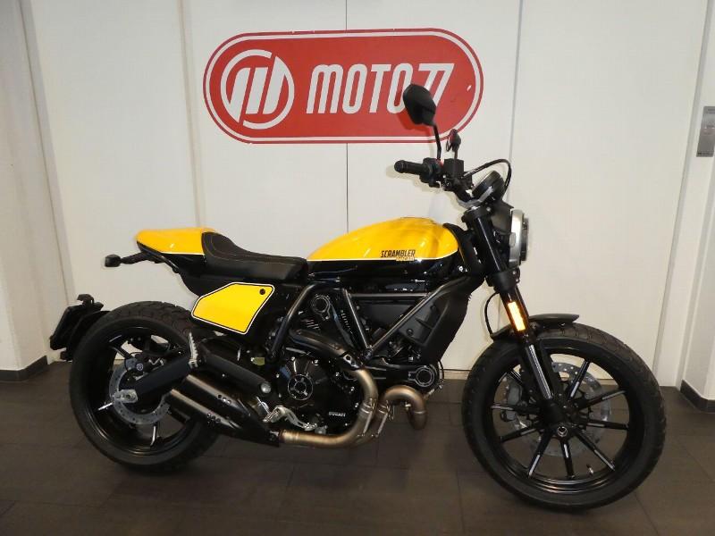 Die Neue Scrambler Icon 2019 Moto77 Ag Frauenfeld