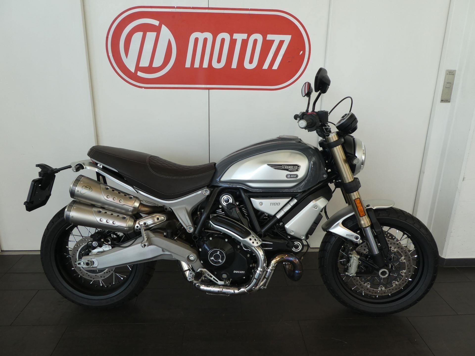 Motorrad Mieten & Roller Mieten DUCATI Spezial Scrambler 1100