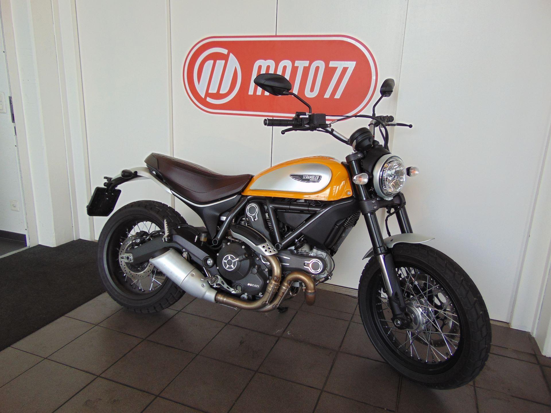 motorrad vorf hrmodell kaufen ducati 800 scrambler classic moto77 ag frauenfeld. Black Bedroom Furniture Sets. Home Design Ideas