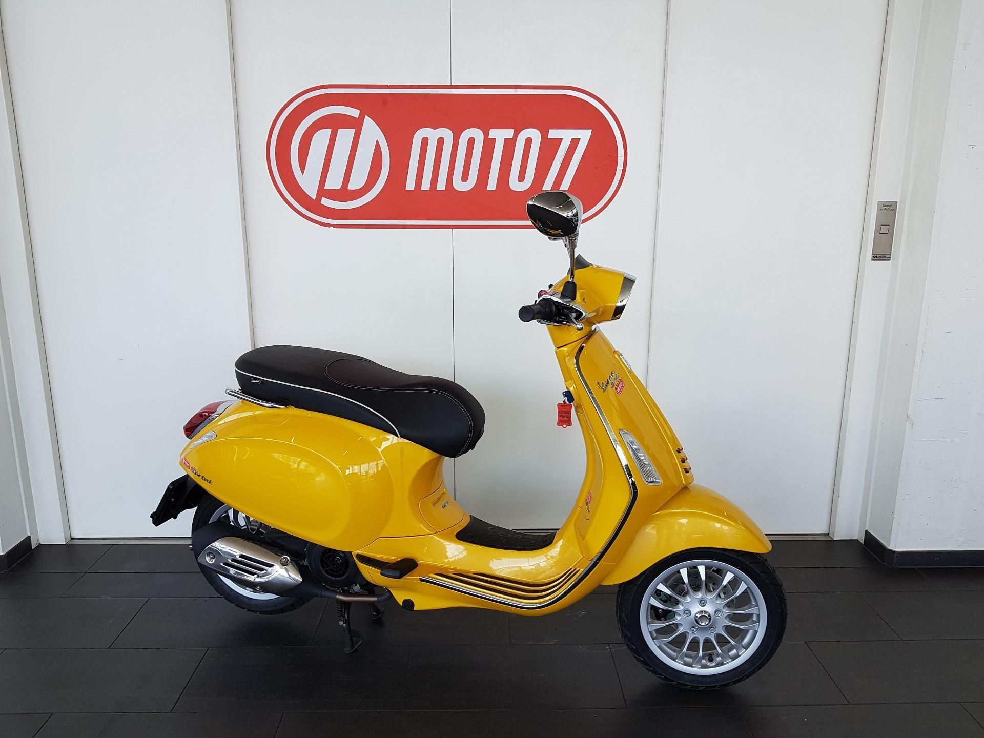 Motorrad Mieten & Roller Mieten PIAGGIO Vespa Sprint 125 ABS iGet